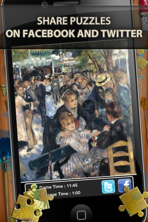 Pierre-Auguste Renoir Jigsaw Puzzles  - Play with Paintings. Prominent Masterpieces to recognize and put together screenshot-3