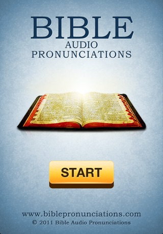 Bible Audio Pronunciations - Confidently Read Any Bible Verse Aloud app image