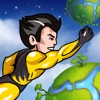 Super Hero Action Man - Best Fun Adventure Race to the Planets Game