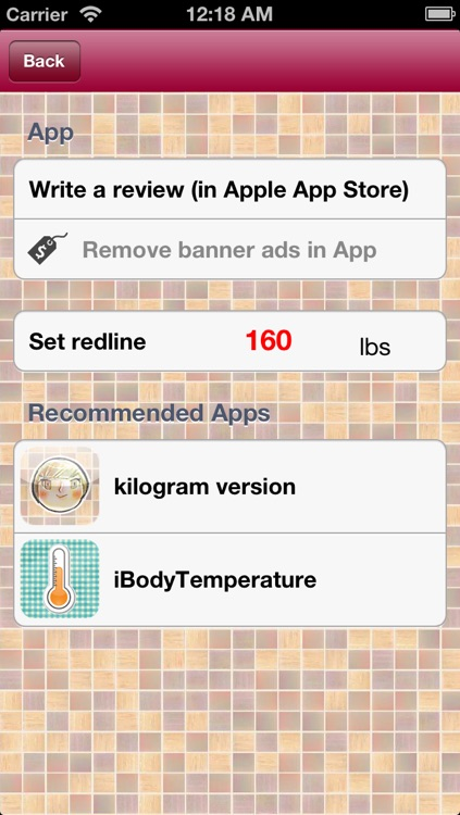 iBodyWeight(lbs) screenshot-4