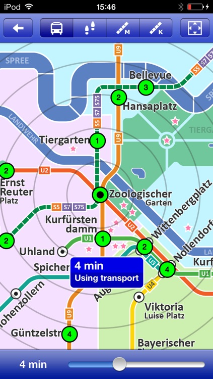 Berlin Metro - Map and route planner by Zuti screenshot-3