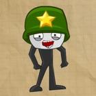 save stickman icon