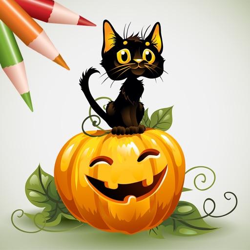 Coloring Book: Halloween!