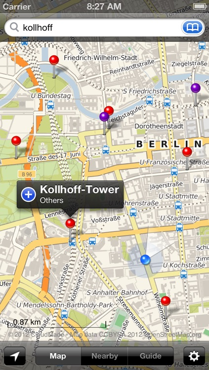 Smart Maps - Berlin screenshot-0