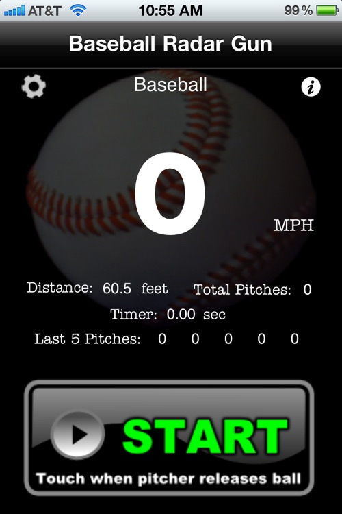 Baseball Radar Gun screenshot-1