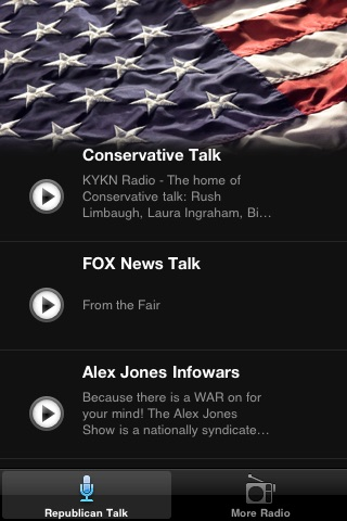 Republican News Radio FM - News From the Right screenshot-3