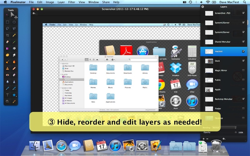 ScreenShot PSD Screenshot