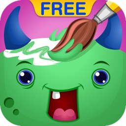 Coloring Bundle for Kids Free : Educational learning app with beautiful pages of Monsters, Pirates, Birthday and Fruits
