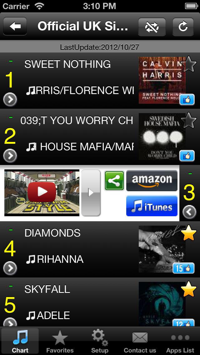 UK Hits! (FREE) - Get The Newest UK Charts! screenshot two