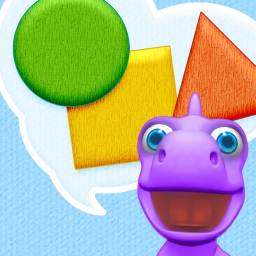 Shapes with Dally Dino - Preschool Kids Learn Shapes with A Fun Dinosaur Friend