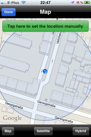 GPS to SMS screenshot-1