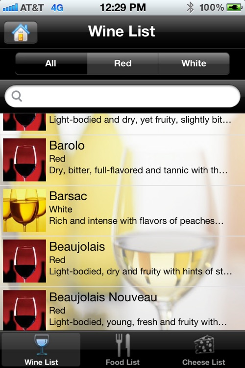 iPairings: Wine, Food and Cheese Pairings screenshot-1