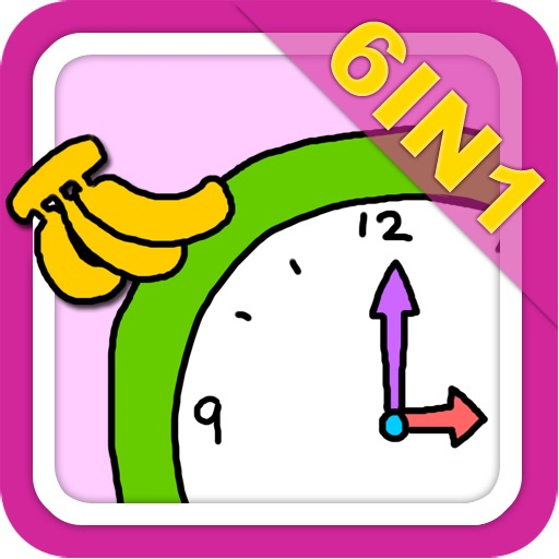 Picture books on time(6in1)-baby365 icon