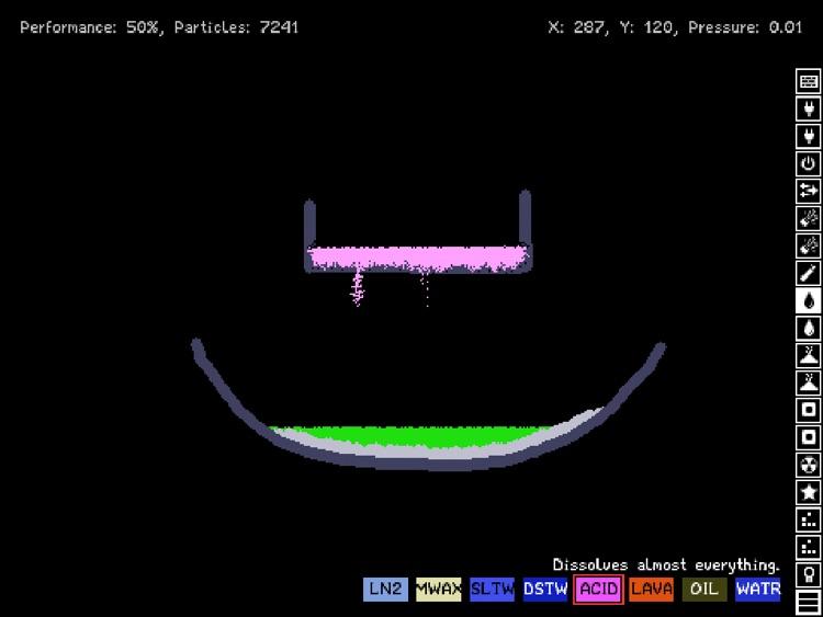 Powder Toy screenshot-4