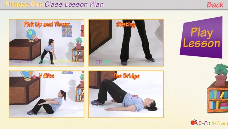 C-Fit XTrain - Classroom Fitness