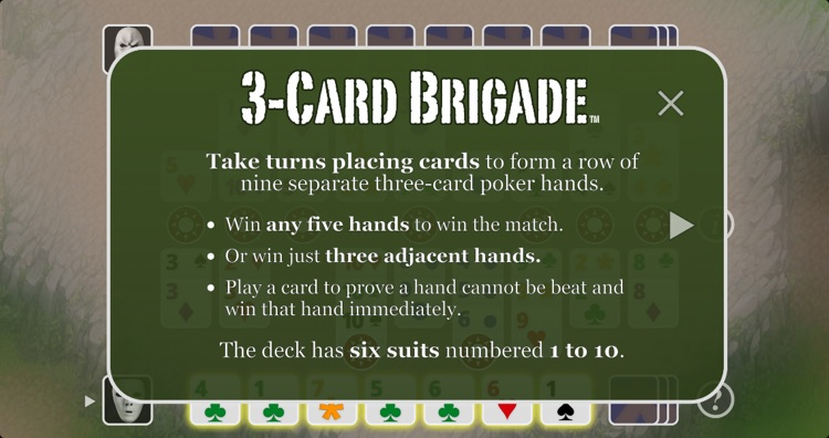 3-Card Brigade Poker screenshot-1