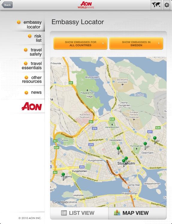 Aon WorldAware HD - Enterprise Version screenshot-4