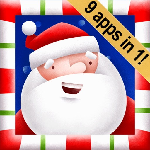 Santa's Big Helper: 9 Christmas Apps in 1