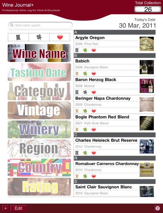 Wine Journal+ Professional Wine Log for Wine En... screenshot-2