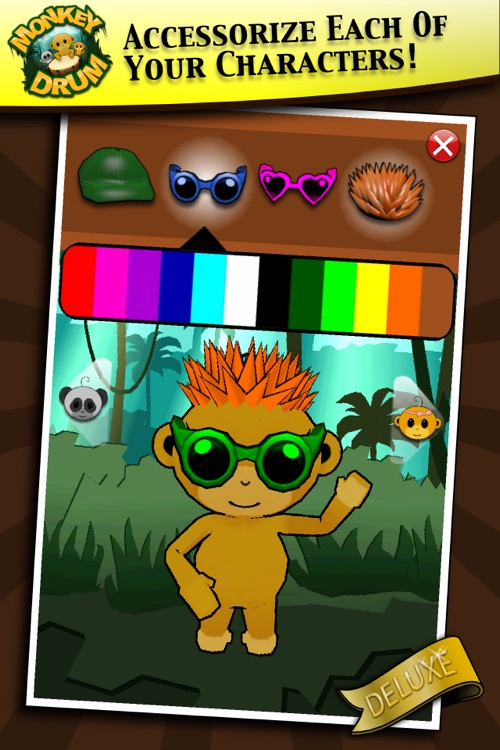Monkey Drum Deluxe screenshot-2