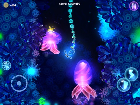 Glowfish HD (Full) на iPad