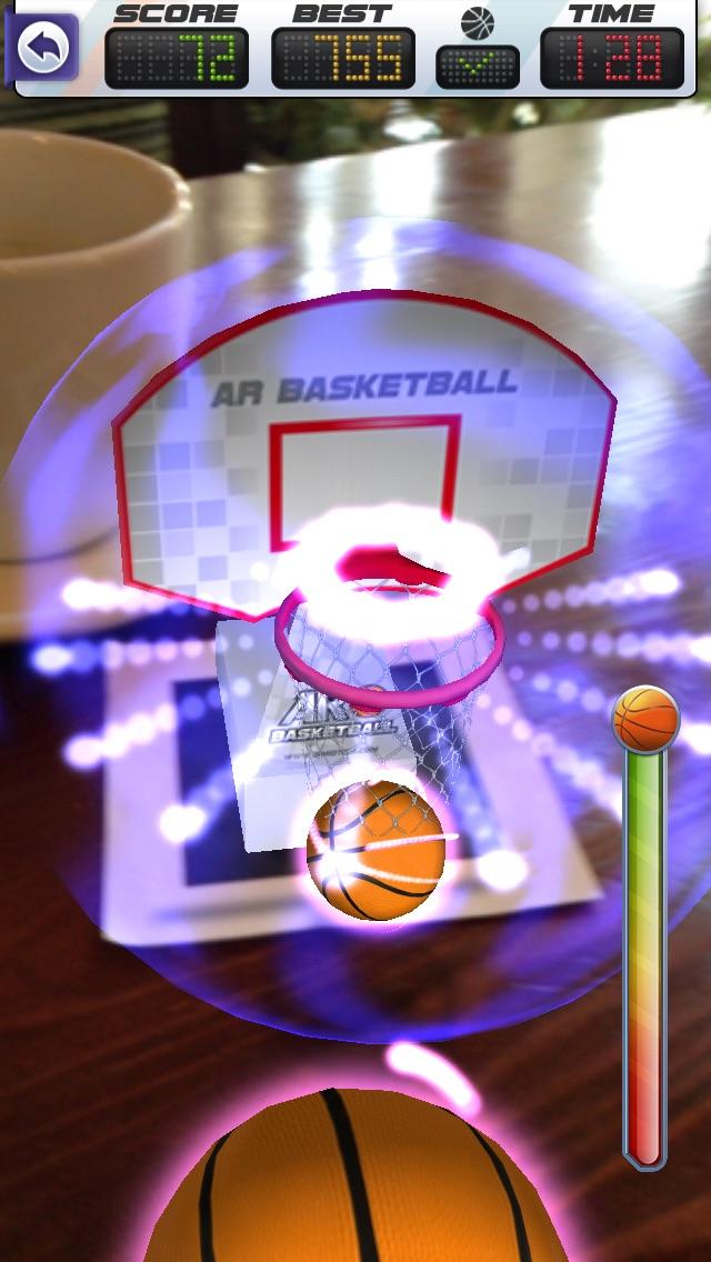 ARBasketball - Augmented Reality Basketball Gameのおすすめ画像2