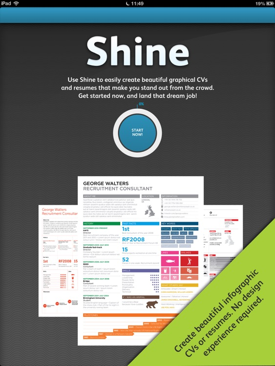 Shine - Resume Designer