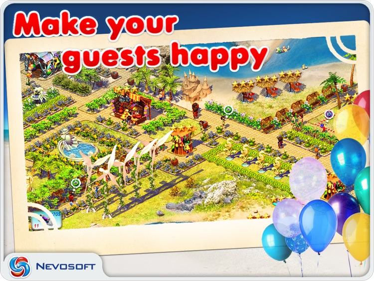 Paradise Beach: resorts tycoon sim strategy