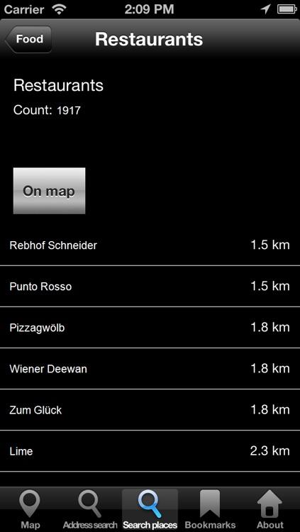 Offline Map Vienna, Austria: City Navigator Maps screenshot-4