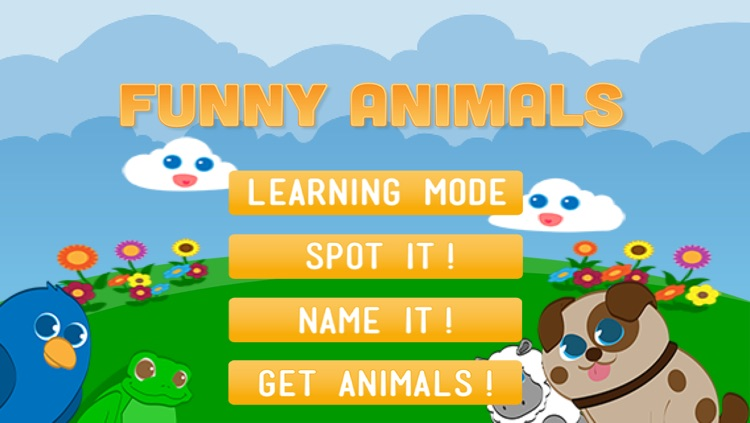 Funny Animals for baby and preschool toddler - Play and learn screenshot-3