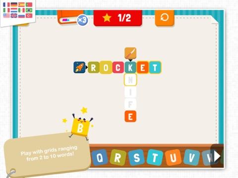 KidEWords - Crossword puzzles for kids-ipad-1