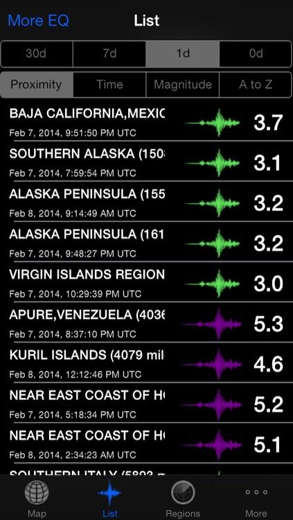 QuakeZones Pro - Earthquake Info With Push Notification
