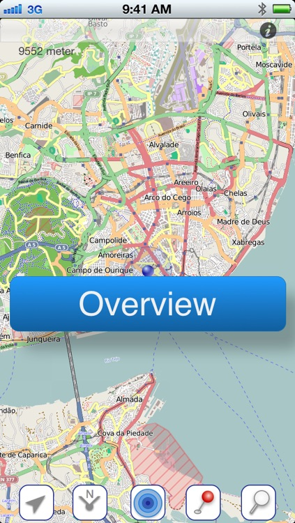 Lisbon Offline Map