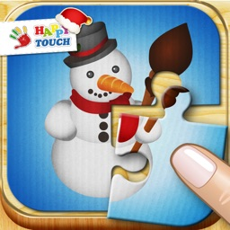 Christmas Jigsaw Puzzle for Kids (by Happy Touch)