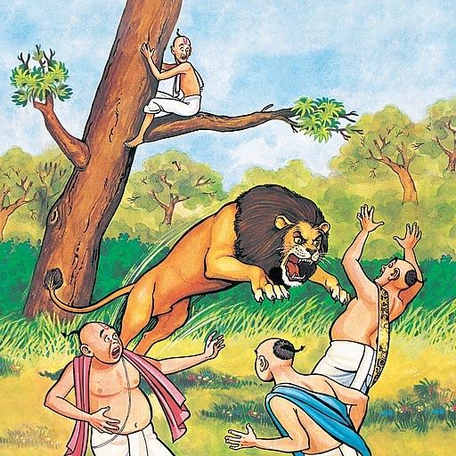 Panchatantra Moral Stories - The Dullard - Amar Chitra Katha Comics
