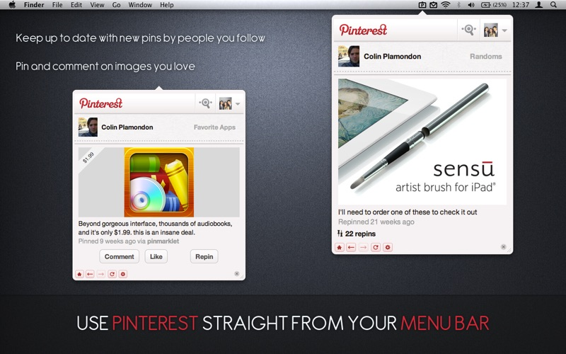 Pin for Pinterest Screenshot