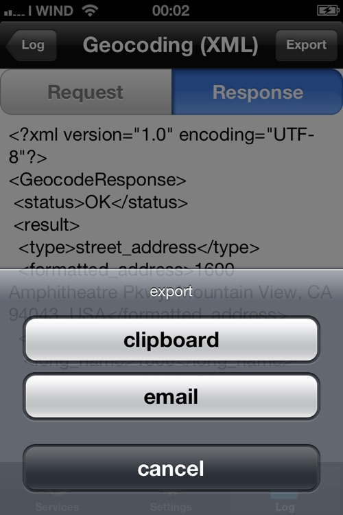 WebService screenshot-4
