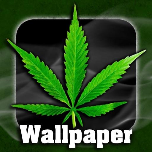 Weed Wallpaper App Logo