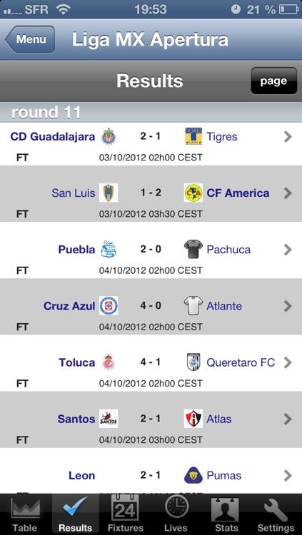 Football Primera División - Liga de Ascenso - Apertura - Clausura [Mexico]