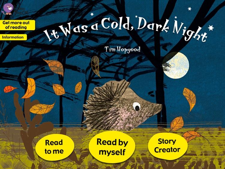 Collins Big Cat: It Was a Cold, Dark Night Story Creator
