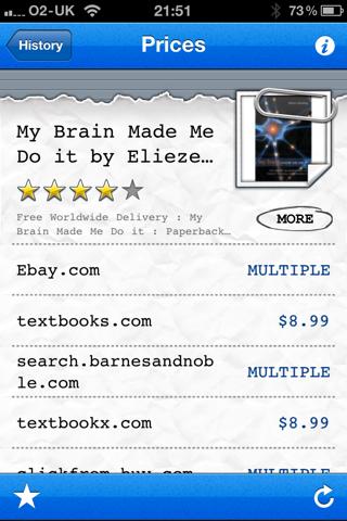 Barcode Reader for iPhone (Premium) Screenshot