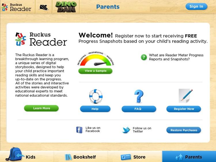 Dino Dan: Ruckus Reader screenshot-4