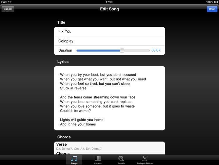 Piano Tabs screenshot-3