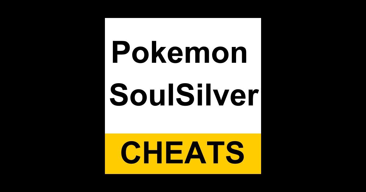 Pokemon soul silver gambling cheats