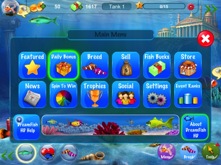 Dream Fish HD screenshot-1