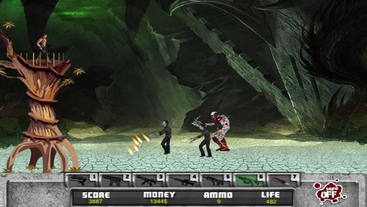 Zombies TD : Shooting & Defence screenshot-4