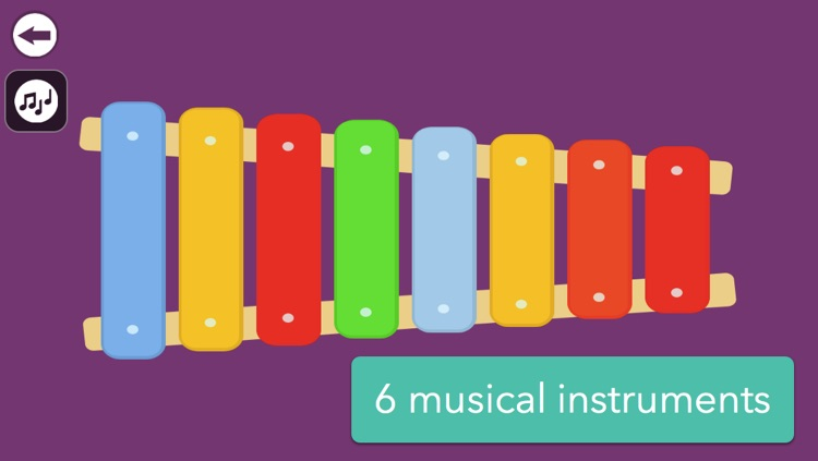 Musical Instruments for Babies - Simple music playing screenshot-4