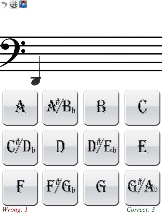 Beginner Reading Music: Bass iPad Edition screenshot-3