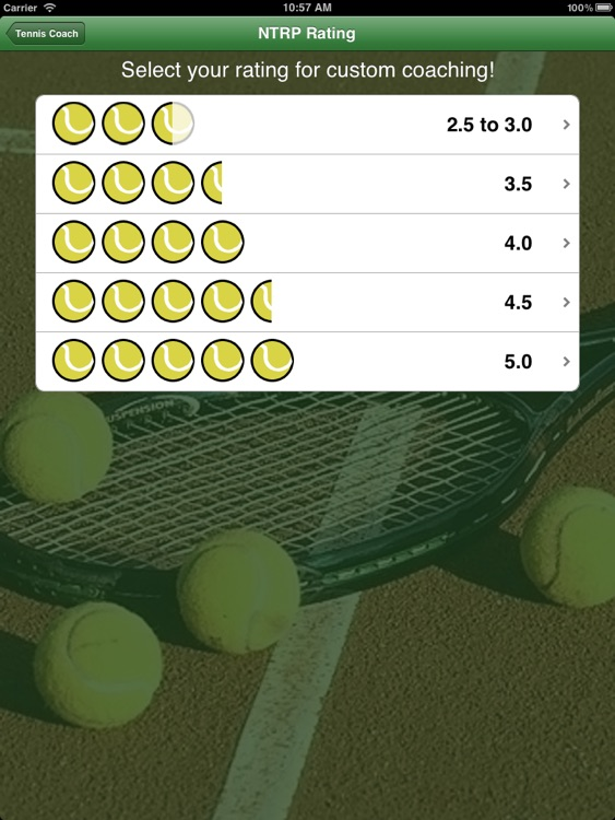 Tennis Coach HD screenshot-1
