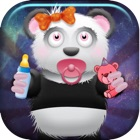 Crazy Panda Bears go Wild in Space vs Alien Zombies at Zero Gravity icon